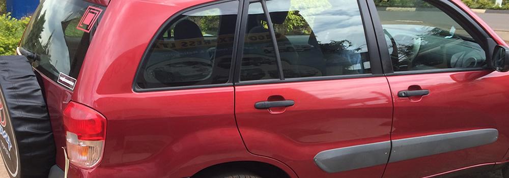 Self Drive Toyota in rwanda