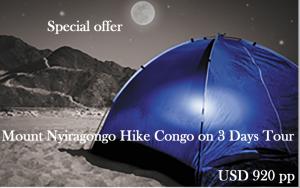 Special offer Nyiragongo Hike Congo